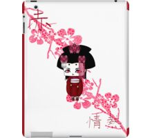 Chibi Lady Aka iPad Case/Skin