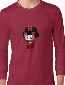Chibi Lady Aka Long Sleeve T-Shirt