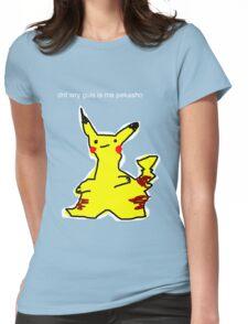 i chos yu pekasho Womens Fitted T-Shirt