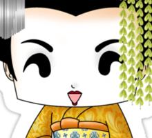 Chibi Lady Kiiro Sticker