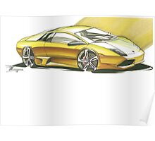 Sports Car Concept Poster