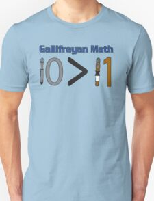 Gallifreyan Math T-Shirt