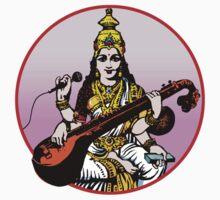 Sarasvati Now by Kim  Lynch