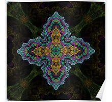 Velvet Cross Poster
