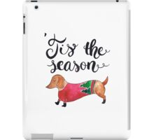 'Tis the Season for Christmas and Dog Lovers iPad Case/Skin