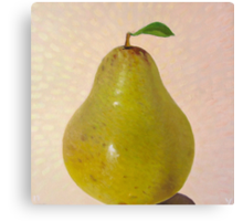 Pear Summer - 3 of 4 in a series Canvas Print