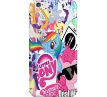 Pony Bomb  iPhone Case/Skin