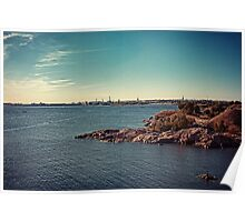 Helsinki - view from Suomenlinna Poster