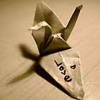 Origami Love by AriannaRenee