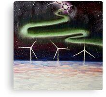 Auroara Galactica Canvas Print