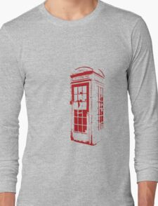 English Phonebooth Long Sleeve T-Shirt