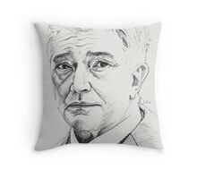 Martin Shaw Throw Pillow