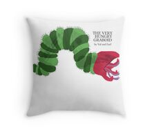 The Very Hungry Graboid Throw Pillow