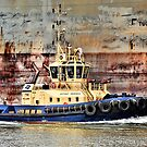 Svitzer Meringa Tug - Newcastle Harbour NSW Australia by Bev Woodman