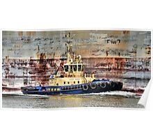 Svitzer Meringa Tug - Newcastle Harbour NSW Australia Poster
