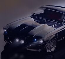 night time Mustang Eleanor by vaka2