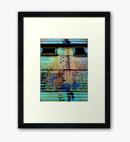 Deep solitudes and awful cells Framed Print