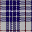 00471 Buchanan Dress Blue Dance Tartan Fabric Print Iphone Case by Detnecs2013