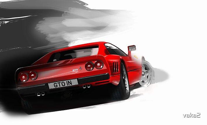 ferrari GTO by vaka2