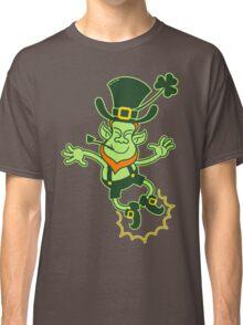 Irish Leprechaun Clapping Feet Classic T-Shirt