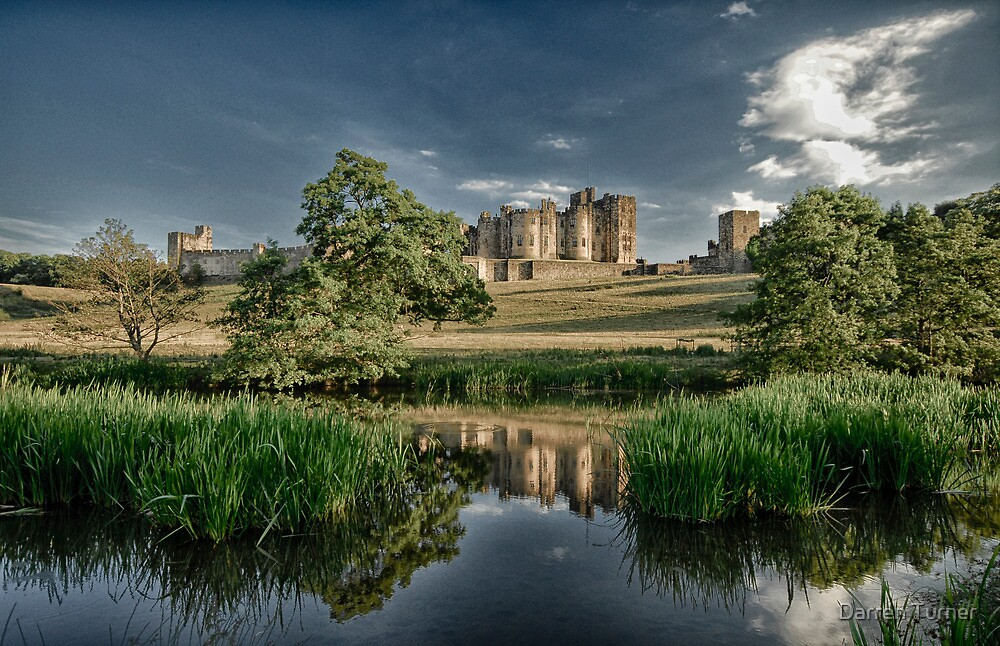 Alnwick Castle, Northumberland by Darren Turner