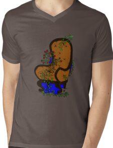 LivingChair Mens V-Neck T-Shirt