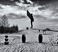 Angel of the North by Darren Turner