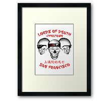 Lords of Death Framed Print