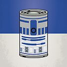 MY STAR WARHOLS R2D2 MINIMAL CAN POSTER by Chungkong