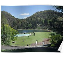 First Basin, Cataract Gorge Poster