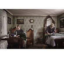 """Tailor's daughters"" Photographic Print"