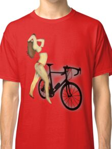 SEXY Cycle BIKE PRINT  Classic T-Shirt