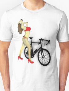 SEXY Cycle BIKE PRINT  Unisex T-Shirt