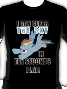 Rainbow Dash - Ten Seconds Flat T-Shirt