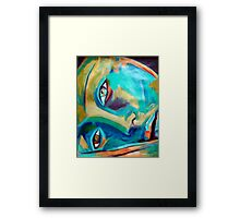 """""""Doorway to the heart"""" Framed Print"""