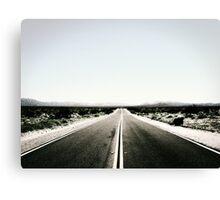 Desert Road VRS2 Canvas Print