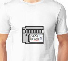 Pixel Power Arcade Logo One Unisex T-Shirt