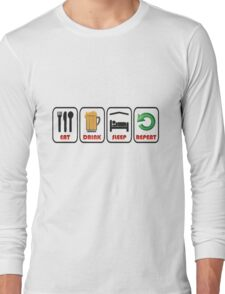 JUST FOR FUN OR STAG OR HEN DO Long Sleeve T-Shirt