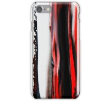 RED FLAMES iPhone Case/Skin