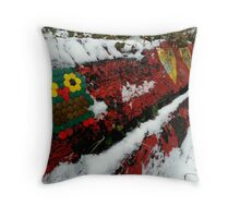 Christiania Owl Throw Pillow