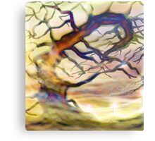 Twisting tree Metal Print