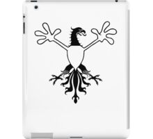 Birds With Arms Coat of arms iPad Case/Skin