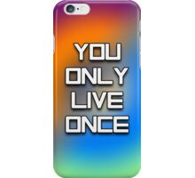 YOLO - Tie Dye #2 iPhone Case/Skin