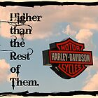 """Go Harder With A Harley"" by Gail Jones"