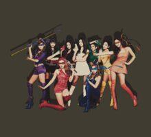 [SNSD] Girls Generation - Ninja Turtles Hoot by julianc89