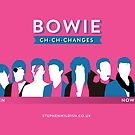 Bowie ch-ch-changes by Stephen Wildish