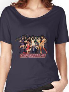 [SNSD] Girls Generation - Ninja Turtles Hoot Women's Relaxed Fit T-Shirt
