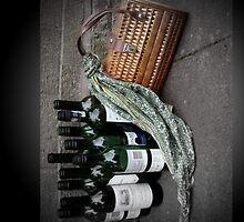 Handbag and Bottles by loutolou