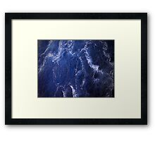 Turbulence Framed Print