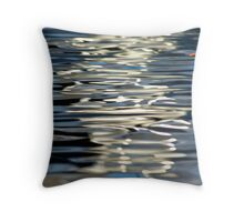 Reflection study (with leaf) - 2012 Throw Pillow